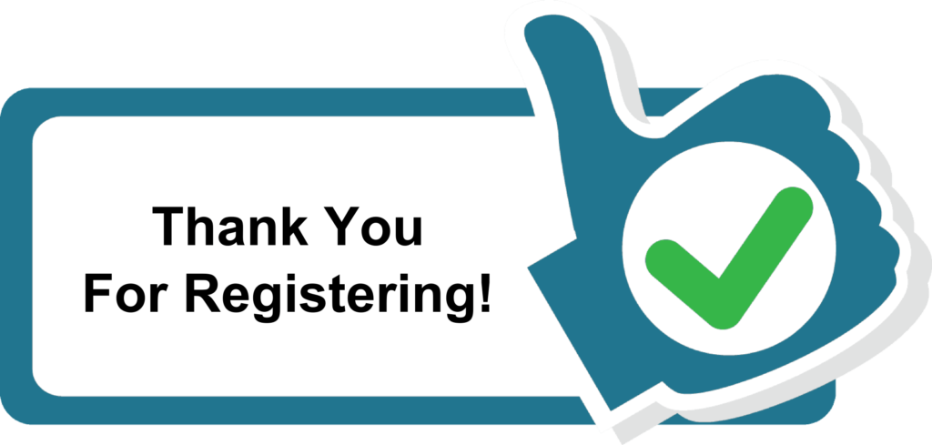 Thank you for registration
