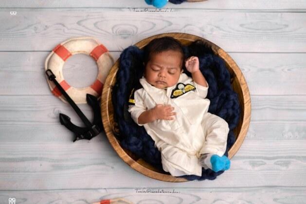 Our cute little sailor