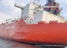 Product tanker STO PIMLICO and LNG tanker BILBAO KNUTSEN collided off Huelva